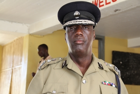 Commissioner of Police in St. Kitts and Nevis Celvin G. Walwyn