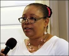 Director of Nevis Library Services, Mrs. Sonita Daniel