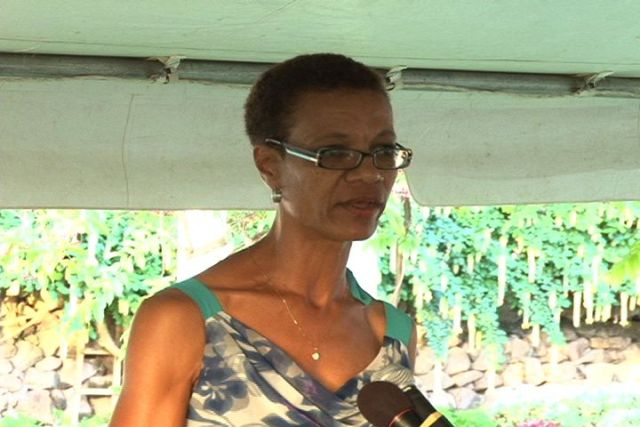 Training Officer in the Human Resources Department, Nevis Island Administration Ms. Isabel Byron