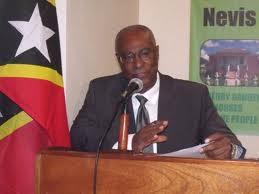 Premier of Nevis, Hon. Joseph Parry