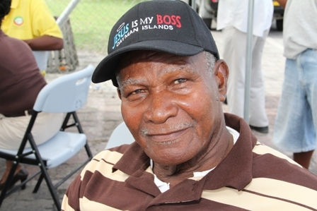 Retired fisherman of over 60 years experience and founder of the Fishermans Cooperative on Nevis 83-year old Mr. Luther Williams from Brown Hill