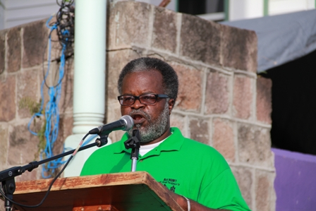 """Special Advisor to the Ministry of Culture and Chairman of the Culturama Festival 2012 Mr. Halsted """"Sooty"""" Byron"""