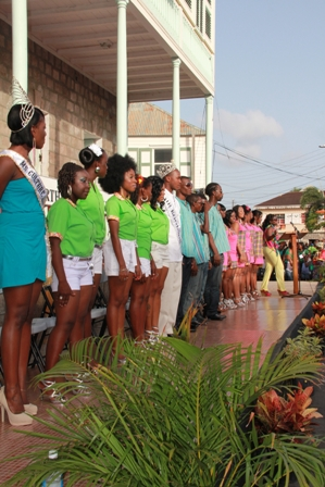 Contestants in the 2012 Culturama Pageants