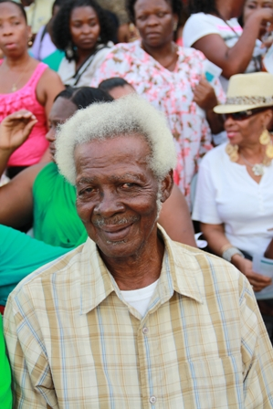 Culturama 2012 Festival's Patron and Grand Marshal for the Cultural Parade Mr. Elmos Jeffers