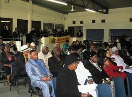 Nevis Island Government Meeting with Nationals in Leeds, England