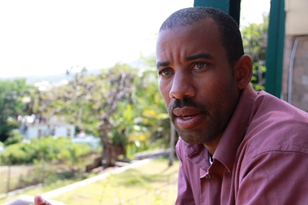 Acting manager of the Nevis Water Department Mr. Roger Hanley