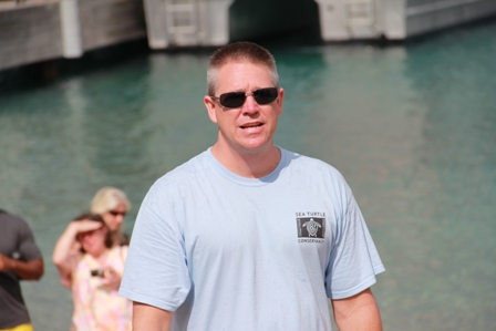 Executive Director of the Sea Turtle Conservancy based in Miami Mr. David Godfrey