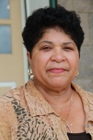 Executive Director of the Nevis Historical and Conservation Society Mrs. Evelyn Henville