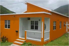 Newly constructed house on Nevis