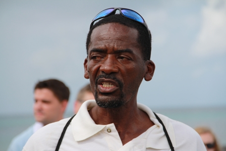 Mr. Lemuel Pemberton President of the Nevis Turtle Group