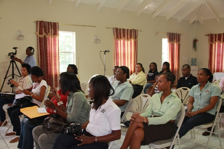 Some of those present at the Culturama 2012 launch