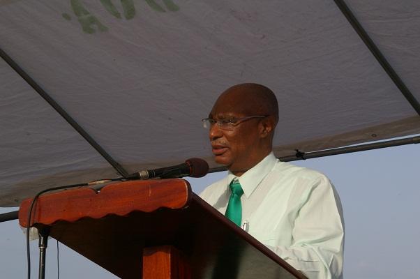 Premier of Nevis, the Hon. Joseph Parry