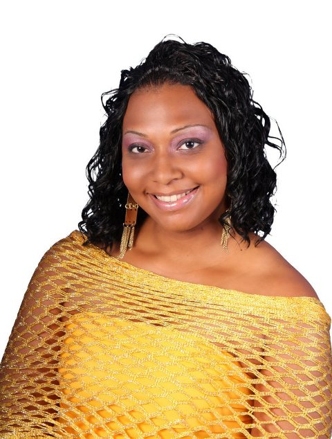 Ms. Culture Queen Pageant contestant number three, Ms. Development Bank of St. Kitts-Nevis Techyna David