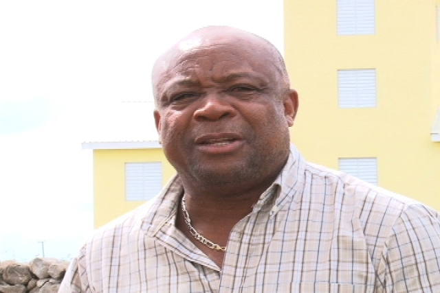 Mr. Hensley Daniel- NRP candidate of St. Johns Consitutuency (file photo)