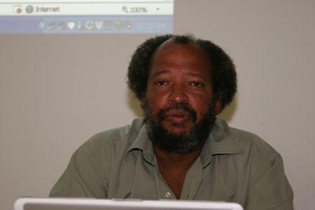 Director of the Nevis Disaster Management Department Mr. Lester Blackett (file photo)