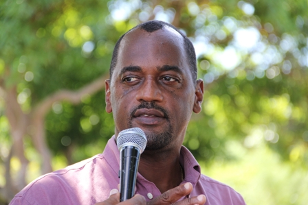 Permanent secretary in the Ministry of Agriculture on Nevis Dr. Kelvin Daly