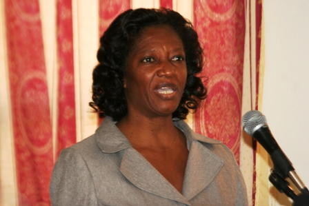 Permanent Secretary in the Ministry of Health Ms. Angelica Elliott (file photo)
