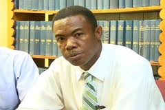 Minister of Trade and Industry in the Nevis Island Administration, Hon. Dwight Cozier