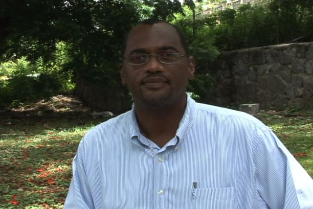 Permanent secretary in the Ministry of Agriculture in the Nevis Island Administration Dr. Kelvin Daly