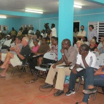 Canadian Global Investors (CGI) Public consultation with residents of Nevis