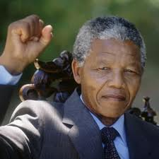 Former South African President and Freedom fighter- Mr. Nelson Mandela