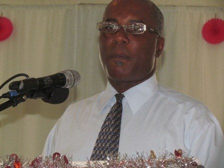 Permanent Secretary in the Ministry of Social Services Mr. Alsted Pemberton