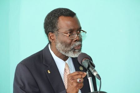 Organisation of American States Representative to St. Kitts and Nevis Mr. Starret Greene (file photo)