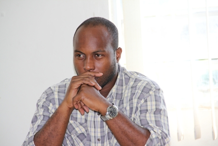 Assistant Fisheries Officer of the Department of Fisheries in St. Kitts Mr. Lorinston Jenkins