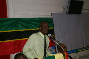 Attorney General of St. Kitts- Nevis- the Hon. Patrice Nisbett
