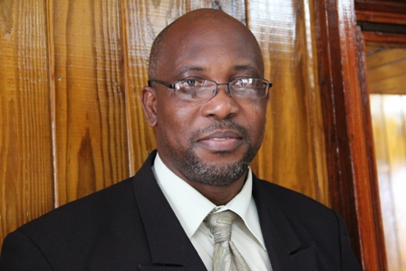 Minister responsible for Natural Resources and the Environment in the Nevis Island Administration Hon. Carlisle Powell