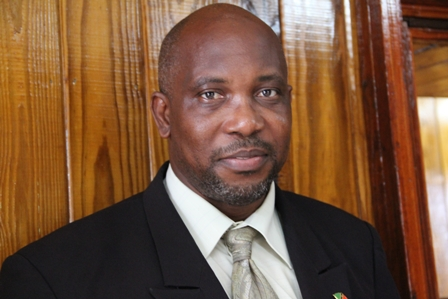 Minister of Communication, Works, Public Utilities, Post, Physical Planning, Natural Resources and the Environment in the Nevis Island Administration (NIA) Hon. Carlisle Powell