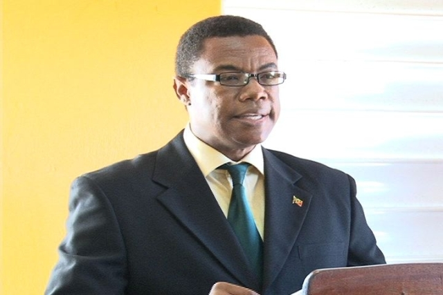 Minister of Trade in the Nevis Island Administration Hon. Dwight Cozier