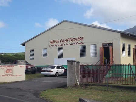 The Nevis Craft House at Pinneys Industrial Site