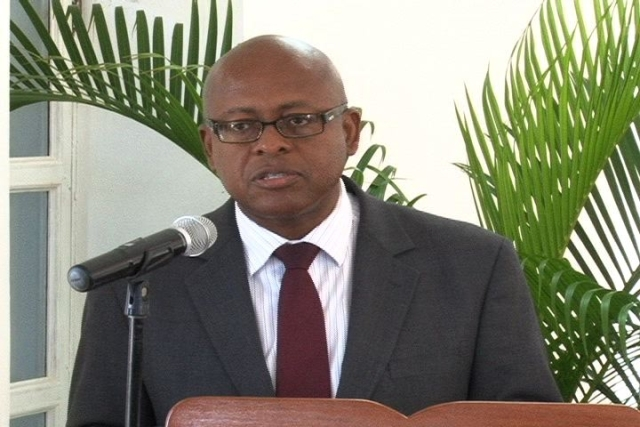 Permanent Secretary in the Ministry of Finance in the Nevis Island Administration Mr. Laurie Lawrence