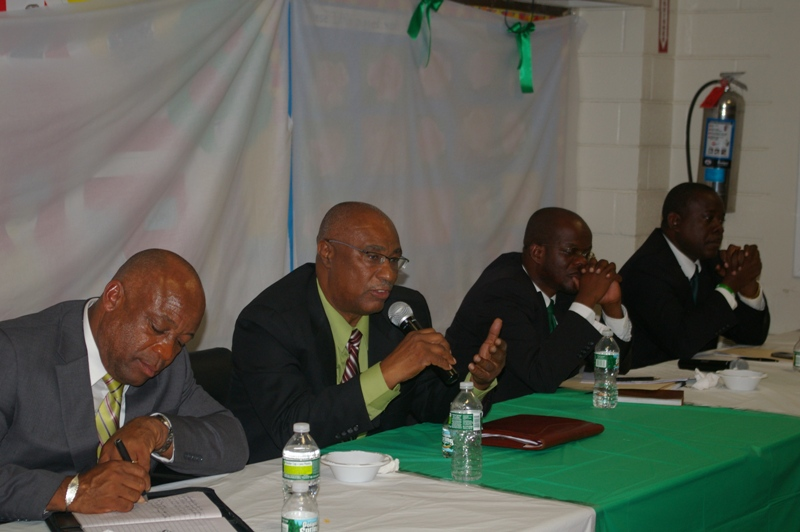 The Nevis Island Administration team in New York