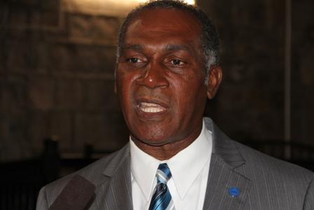Premier of Nevis Hon Vance Amory