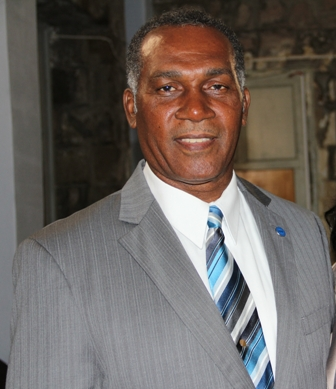 Premier of Nevis Hon. Vance Amory moments after he received his Instruments of Appointment at the High Court in Charlestown on January 23, 2013