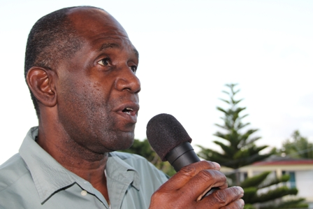 Permanent Secretary in the Ministry of Trade in the Nevis Island Administration Mr. Dwight Morton