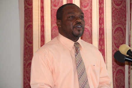 Permanent Secretary in the Ministry of Human Resources, Nevis Island Administration Mr. Chesley Manners