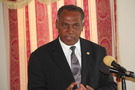 Premier of Nevis and Minister of Finance in the Nevis Island Administration Hon. Vance Amory (file photo)