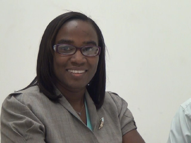 Environmental Officer in the Department of Physical Planning, Natural Resources and Environment in Nevis and Co-Chairman of the Implementation and Planning Committee Ms. Claudia Walwyn, for the United Nations Educational Scientific and Cultural Organization's environmental conference to be held in collaboration with the Nevis Island Administration in May