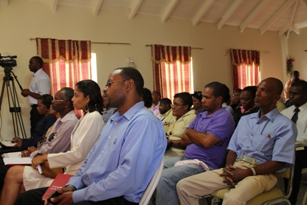 Department Heads in the Nevis Island Administration