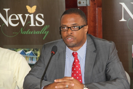Deputy Premier and Minister of Tourism on Nevis Hon. Mark Brantley (file photo)