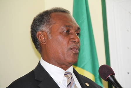 Premier of Nevis and Minister of Security in the Nevis Island Administration Hon. Vance Amory