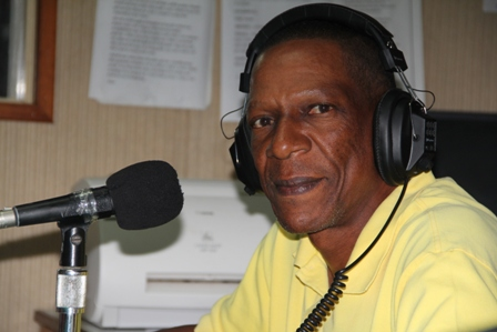 Chief Extension Officer at the Department of Agriculture on Nevis Mr. Walcott James