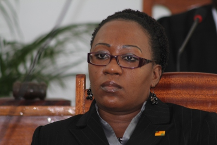 Clerk of the Nevis Island Assembly Ms. Shemica Maloney