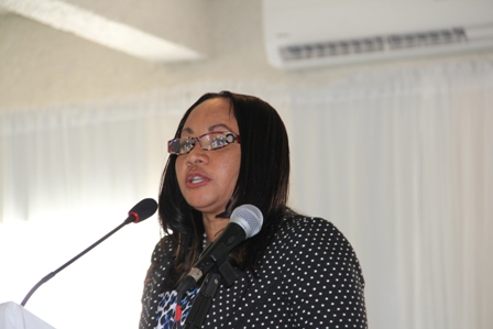 Regulator at the Nevis Financial Services Regulation and Supervision Department Ms. Lyndis Wattley