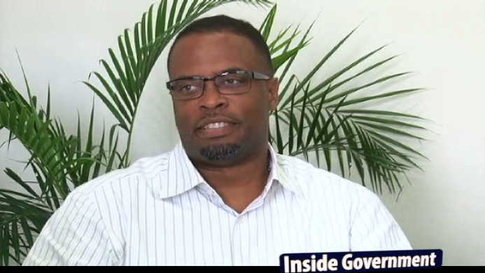 Deputy Premier of Nevis and Minister of Tourism Hon. Mark Brantley a guest on NTV8's Inside Government programme aired on November 11, 2013