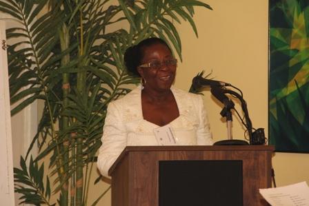 Local Workshop Coordinator Ms. Elmeader Brookes