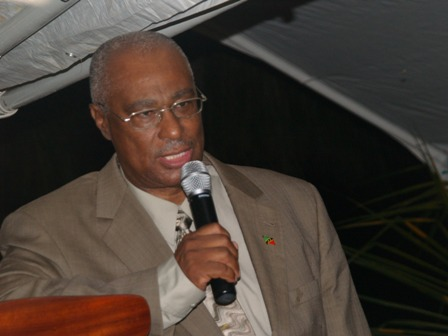 Area Representative for the St. Thomas Parish Hon. Joseph Parry